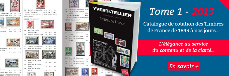 Catalogue de cotation des Timbres de France - 2018 - YVERT et TELLIER